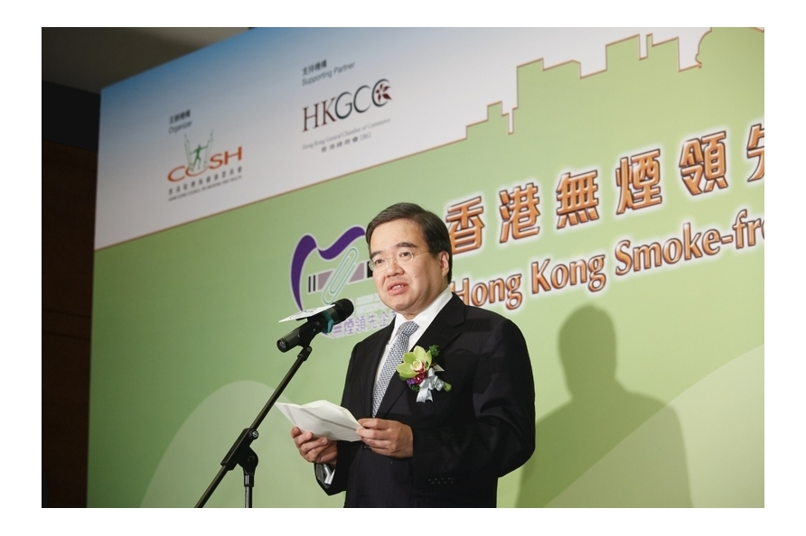 The Awards was fully supported by Hong Kong General Chamber of Commerce (HKGCC) which has over 4,000 corporate members. Dr Anthony WU, GBS, JP (Former Chairman of Hong Kong General Chamber of Commerce) encouraged members and other companies to participate in the Awards and support smoke-free culture
