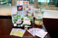 Smoke-free corner was set up at staff rest area to mobilize colleagues to support smokers to kick the habit.